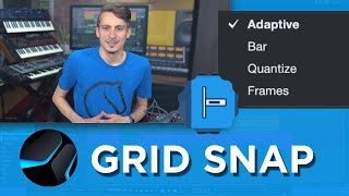 Grid and Snap Options in Studio One