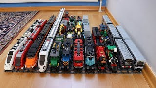 Lego train collection