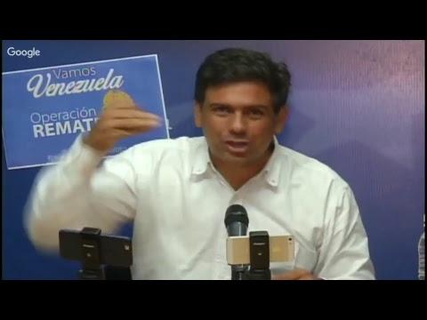 15-10-2017 Carlos Ocariz llama a operación remate