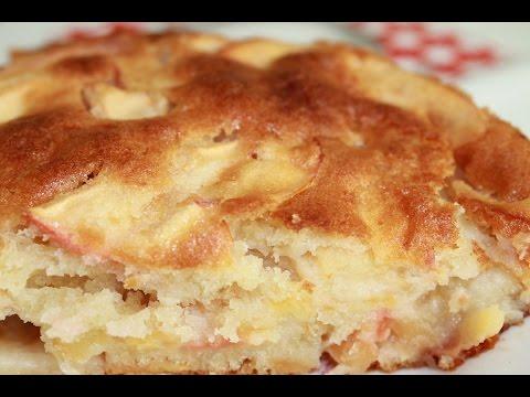 Шарлотка с яблоками.Рецепт очень вкусного яблочного пирога.