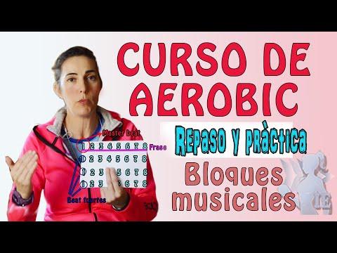 CURSO DE AERÓBIC, REPASO DE ESTUCTURA MUSICAL. BLOQUES Y FRASES