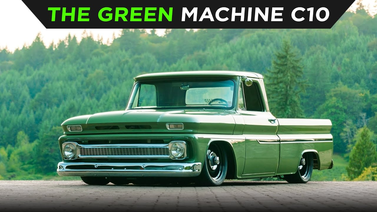 THE GREEN MACHINE | CHEVY C10 | TOYO TIRES | [4K60]
