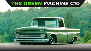 homepage tile video photo for THE GREEN MACHINE | CHEVY C10 | TOYO TIRES | [4K60]