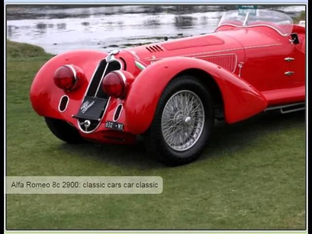 Amazing 1938 Alfa Romeo 8C 2900
