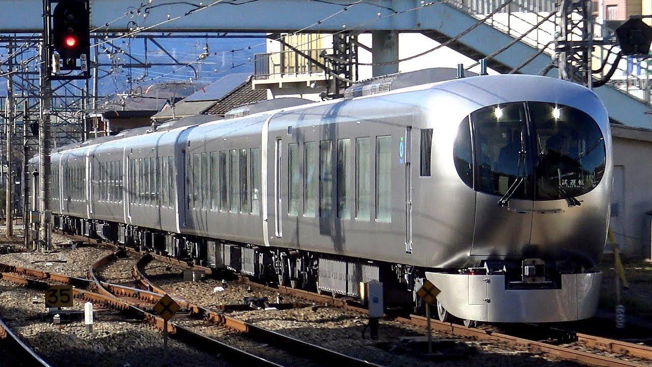 【4K】【新型】西武鉄道001系新型特急「Laview」(三菱フルSiC-VVVF ...