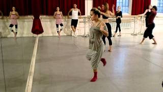"""gravity s angel""by julie Pecquet.modern jazz open class .laurie anderson"