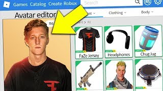 MAKING FORTNITE FAZE TFUE A ROBLOX ACCOUNT!!