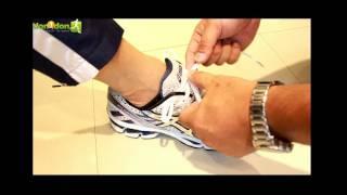 Repeat youtube video 鞋帶綁法學問高 適合慢跑運動的正確繫帶法