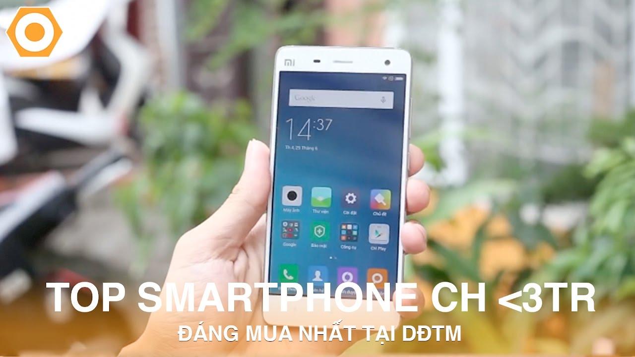 Top Smartphone chính hãng dưới 3Tr Đáng mua nhất tại DĐTM