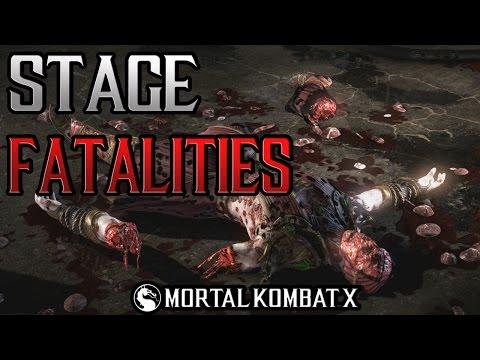 Mortal Kombat XL   Stage Fatalities   Xbox One  