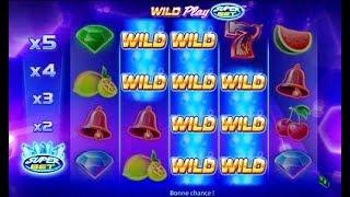 Jeu en ligne Wild Play Super Bet 👏👏👏 Machine à Sous en Ligne 👏👏👏