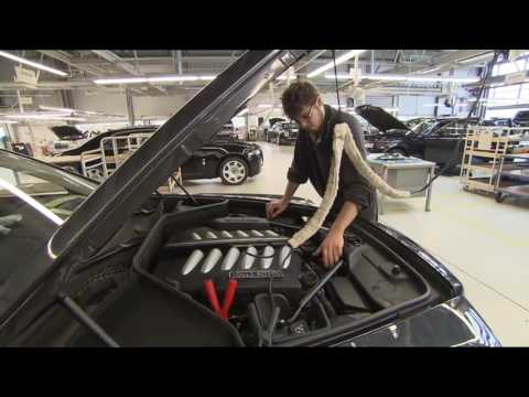 Rolls Royce Production  劳斯莱斯生产线