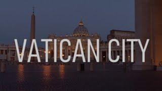 VATICAN CITY (4K City Tour) Stunning Aerial/Walking Tour/Day/Night 4K Footage