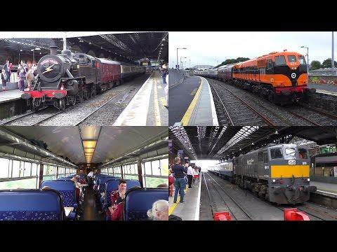 Trip aboard the RPSI's 'Radio Train' to Kilkenny (21-8-2016)