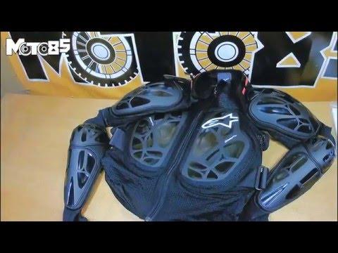 Моточерепаха Alpinestars Bionic Tech - обзор от Moto85.ru