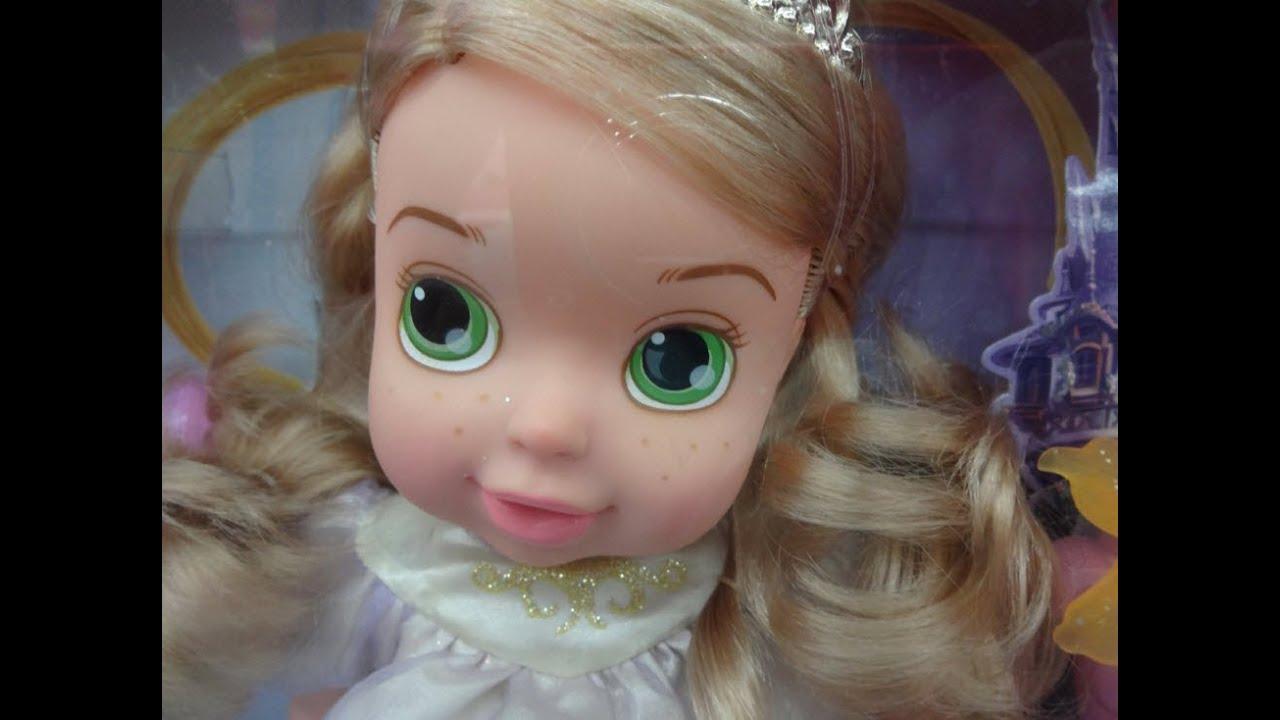 disney princess tangled baby doll rapunzel youtube
