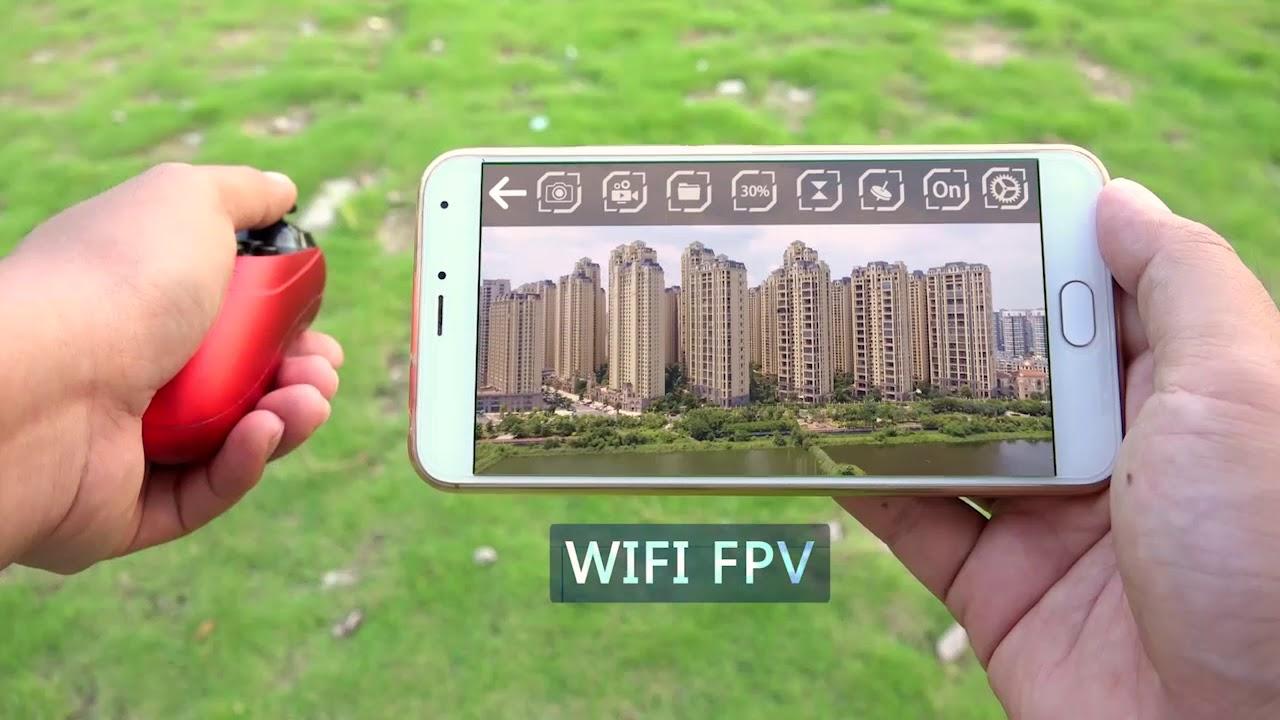 GoolRC T47 6-Axis Gyro WIFI FPV 720P HD Camera Quadcopter Foldable G-sensor  RC Selfie Drone RTF