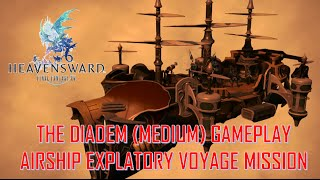 Final Fantasy XIV: Heavensward - THE DIADEM (MEDIUM) GAMEPLAY AIRSHIP EXPLATORY MISSION