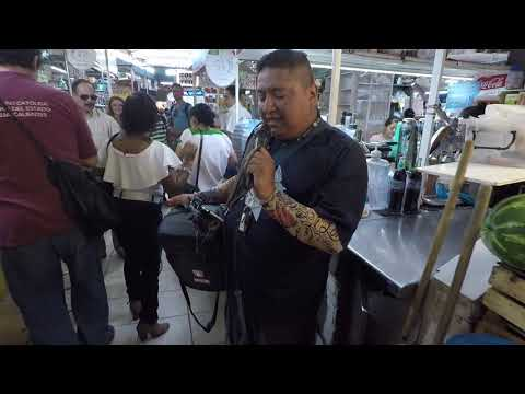 Aguascalientes Mexico's farmers market.