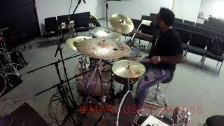 Bruno Mars- Finesse Drum Remix | Marcus Thomas HD