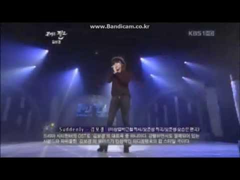 김보경(Kim Bo Kyung) - Suddenly(City Hunter Ost) Live