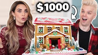 Surprising My Girlfriend With A $1000 GINGERBREAD HOUSE!