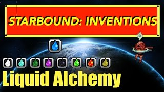 Starbound Inventions: Liquid Alchemy Station