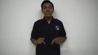 Mengenal Huruf Abjad dalam Sistem Isyarat Bahasa Indonesia (SIBI)
