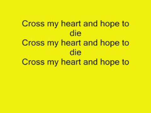 Marianas Trench Cross My Heart Lyrics