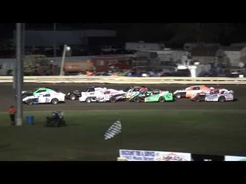 Night1 IMCA Sport Mod Heats Lee County Speedway Fall Extravaganza 10/10/14