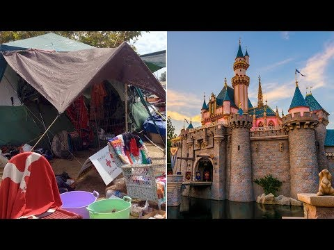 Homeless Encampment Near California Disneyland To Be Demolis