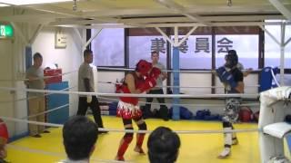 第11試合ビギナールール‐60キロ 片野 武VS押木 俊介