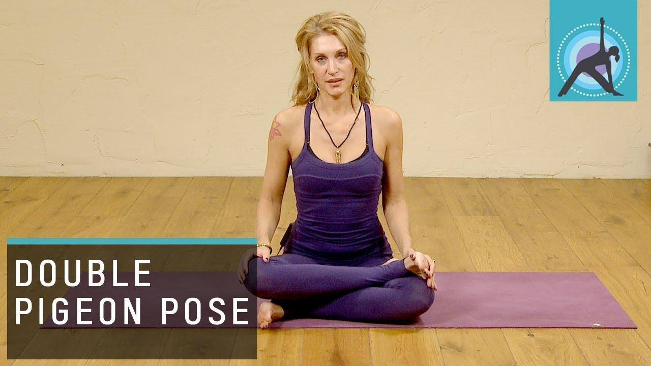 Double Pigeon Pose Explained, Yoga - YouTube