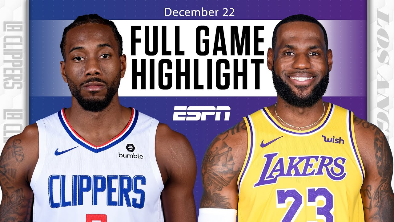 LA Clippers vs. Los Angeles Lakers [FULL GAME HIGHLIGHTS] | NBA on ESPN