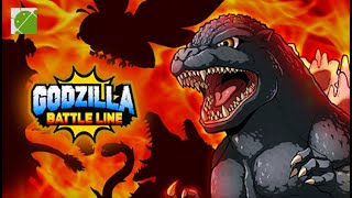 Godzilla Battle Line - Android Gameplay FHD