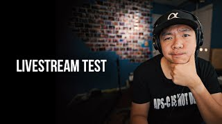 Livestream Test for Sony a7SIII Announcement