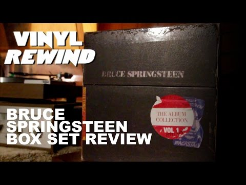 Bruce Springsteen vinyl box set review