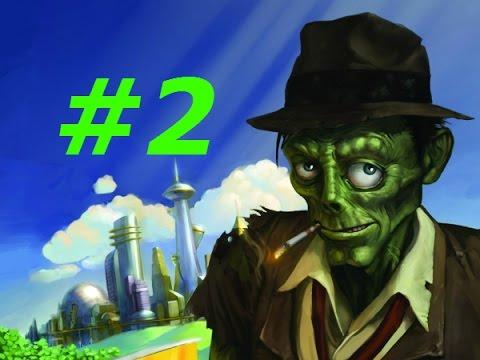 Прохождение - Stubbs the Zombie (Месть Короля) - часть #2 Напали на  полицейский офис
