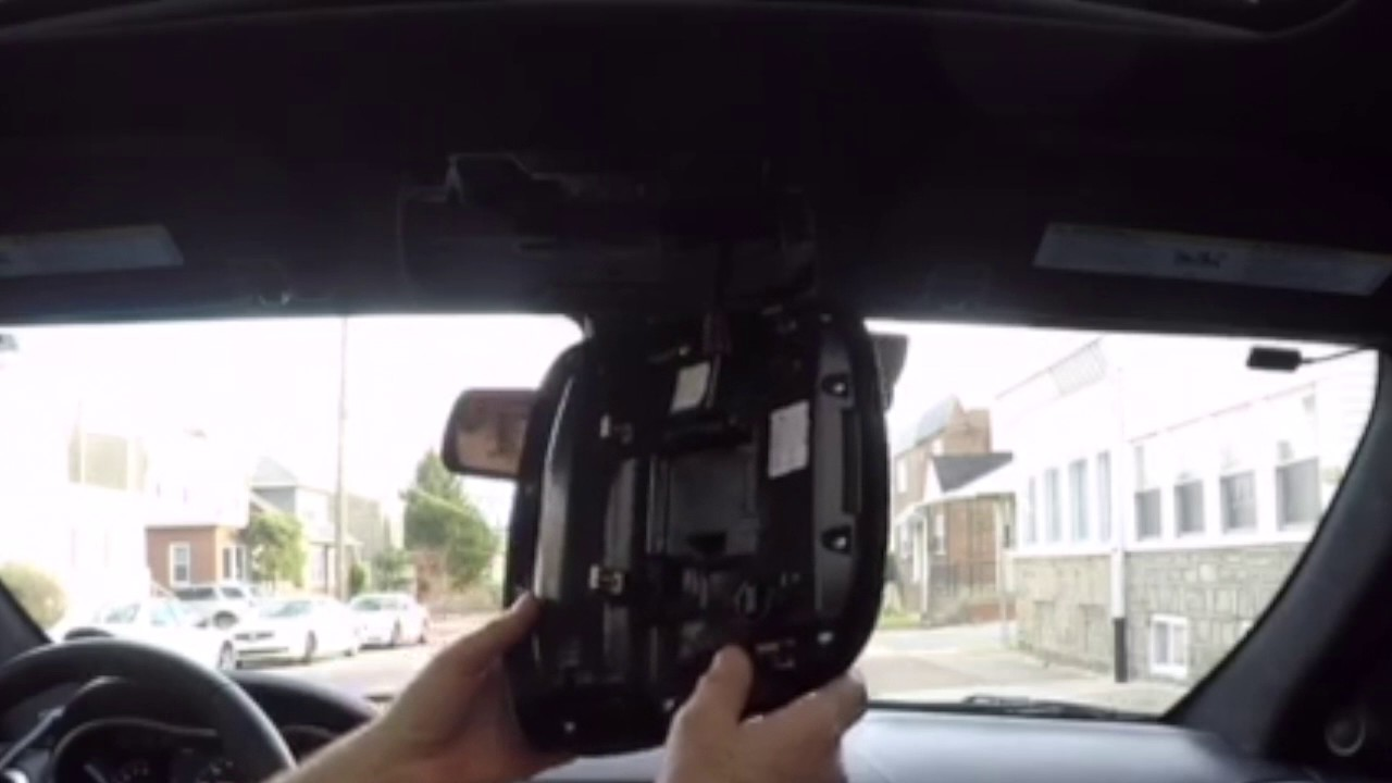 How To Remove Map Lights Overhead Console  YouTube