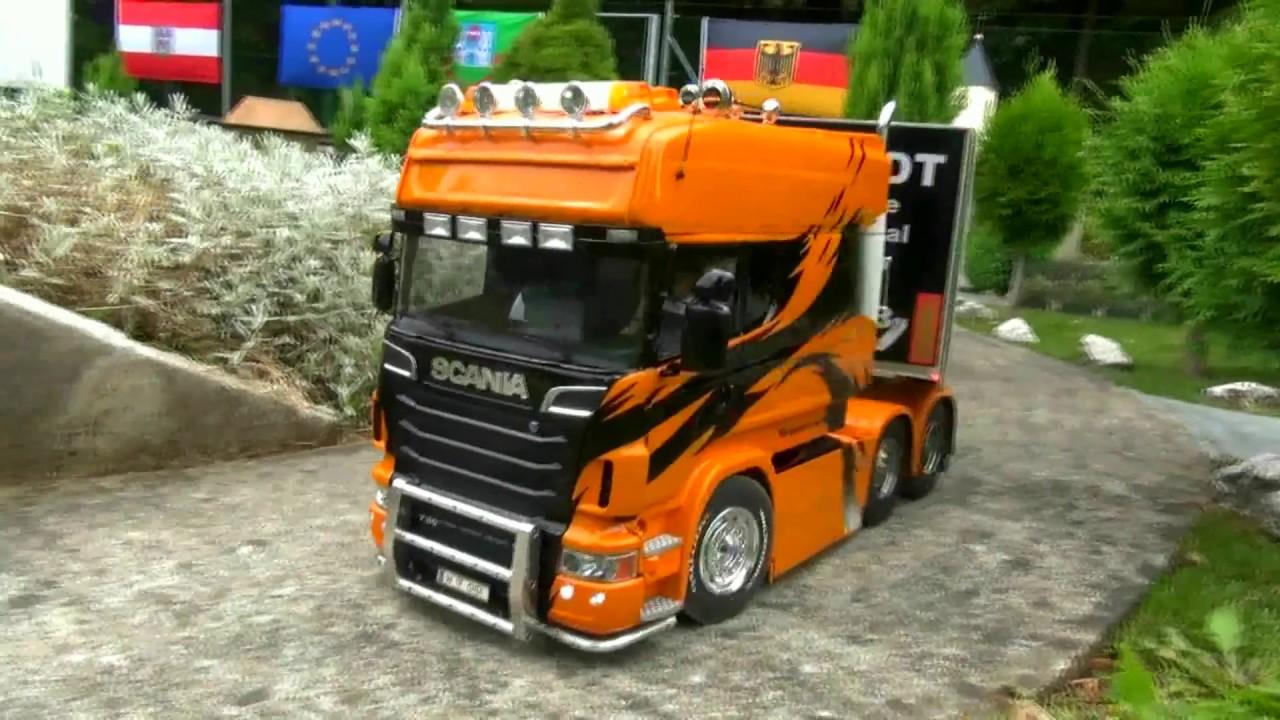 Fa Schmidt Longliner Scania Tamiya Rc Bruder Toys Amazing Truck