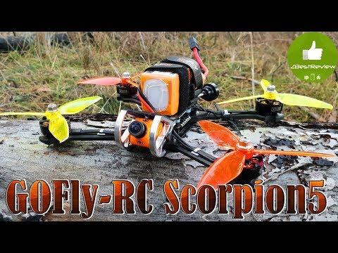 Фото ✔ GOFly-RC Scorpion5 - FPV Квадрокоптер для Фристайла!