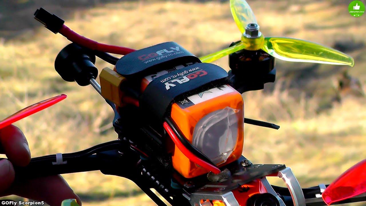 ✔ GOFly-RC Scorpion5 - FPV Квадрокоптер для Фристайла! фотки