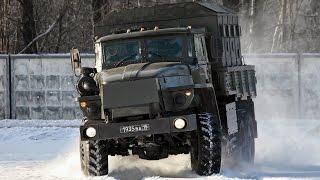 Зимняя контраварийная подготовка водителей. Экстримальное вождение Барнаул автошкола БЦВВМ Урал Уаз