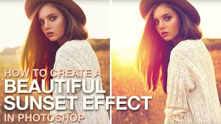 How to Create a Beautiful Sunset Effect in Photoshop