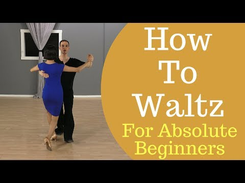 How To Waltz Dance For Beginners - Waltz Box Step