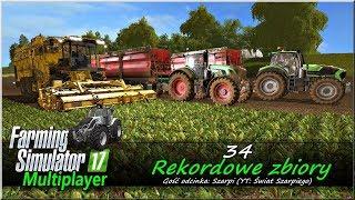 "Farming Simulator 17 - #34 ""Rekordowe zbiory"""