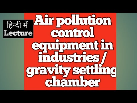 Air Pollution Control  Equipment In Industries /gravity Settling Chamber