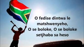 Baixar - Nkosi Sikelel Iafrika South African National Anthem With Lyrics Inno Nazionale Sudafricano Grátis