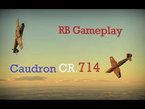 Caudron CR.714 // RB Gameplay // Light support fighter