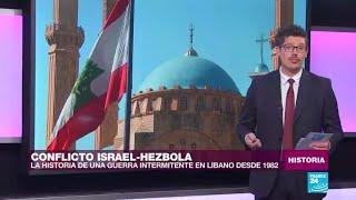 El origen del conflicto entre Israel y el grupo militante Hezbolá